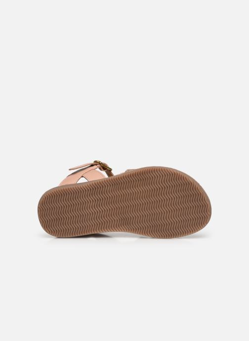 Sandales et nu-pieds Les Tropéziennes par M Belarbi Inaya Beige vue haut