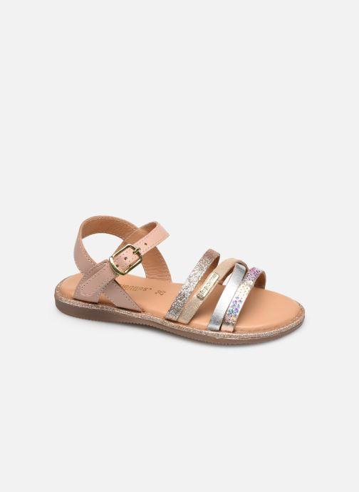 Sandales et nu-pieds Les Tropéziennes par M Belarbi Inaya Beige vue détail/paire
