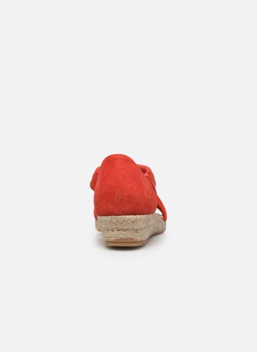 Scarpe di corda Georgia Rose Soft Distina Rosso immagine destra