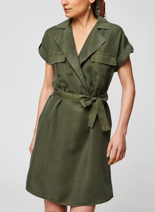 Vêtements Noisy May Short Dresses VERA Vert vue droite