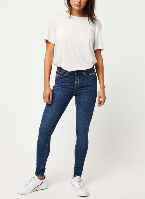 Vêtements Noisy May Jeans Stretch VICKY Bleu vue bas / vue portée sac
