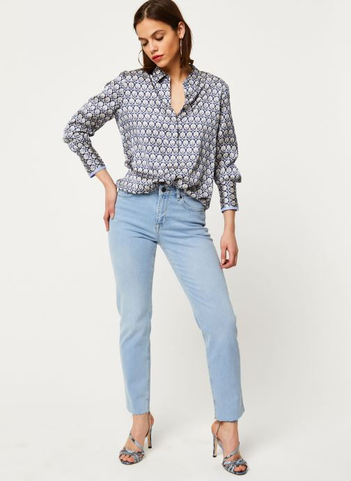 Noisy May Jeans Solid JENNA (Bleu) - Vêtements (425794)
