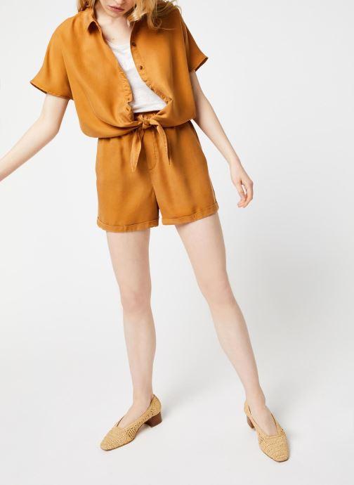 Vêtements Noisy May Shorts MARIA Marron vue bas / vue portée sac