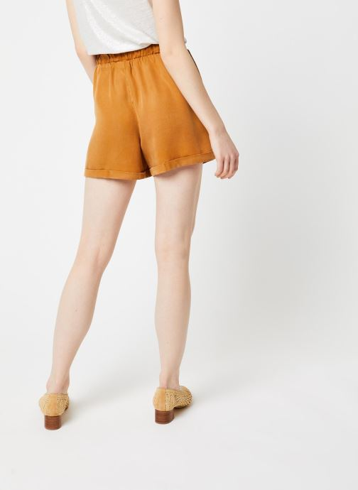 Vêtements Noisy May Shorts MARIA Marron vue portées chaussures