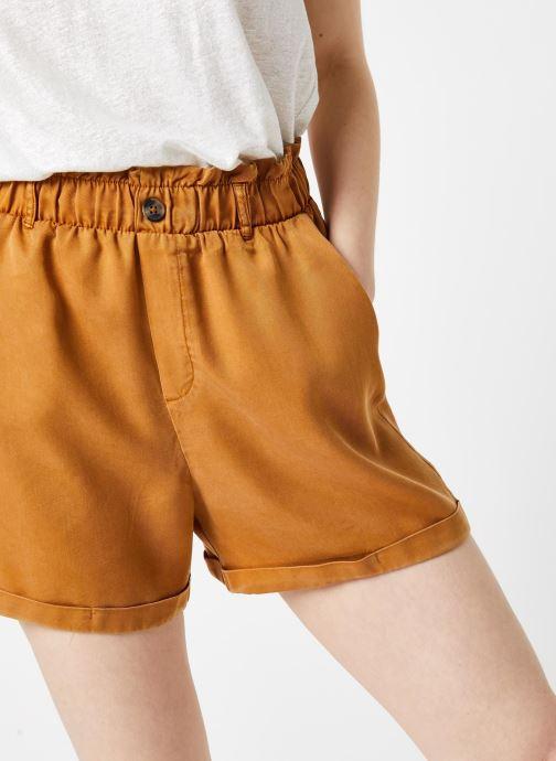 Vêtements Noisy May Shorts MARIA Marron vue face