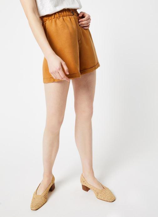 Vêtements Noisy May Shorts MARIA Marron vue détail/paire