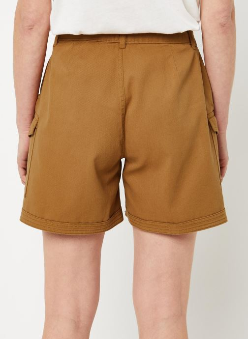 Vêtements Noisy May Shorts LOUISE Marron vue portées chaussures