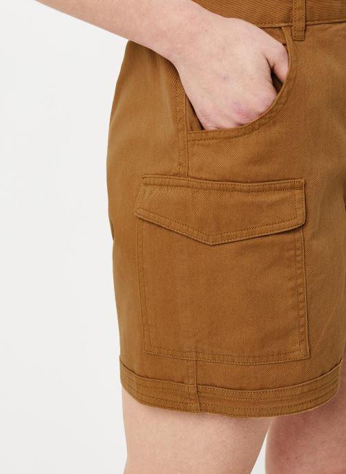 Vêtements Noisy May Shorts LOUISE Marron vue face