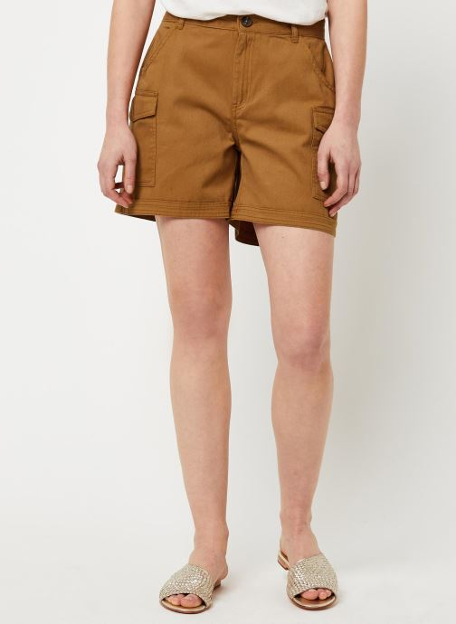 Vêtements Noisy May Shorts LOUISE Marron vue détail/paire