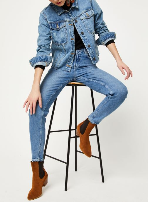 Vêtements Noisy May Denim Jackets SURY Bleu vue bas / vue portée sac