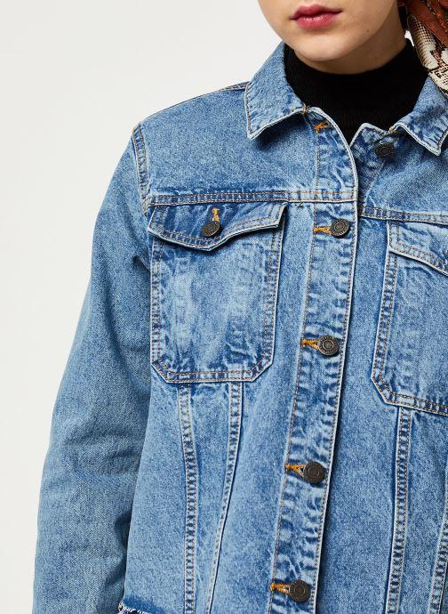Vêtements Noisy May Denim Jackets SURY Bleu vue face