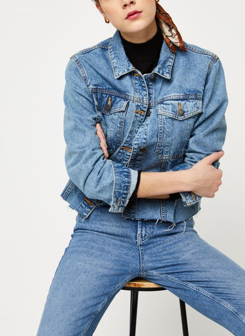 Kleding Noisy May Denim Jackets SURY Blauw detail