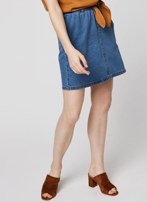 Vêtements Noisy May Denim Skirts JUDO Bleu vue détail/paire