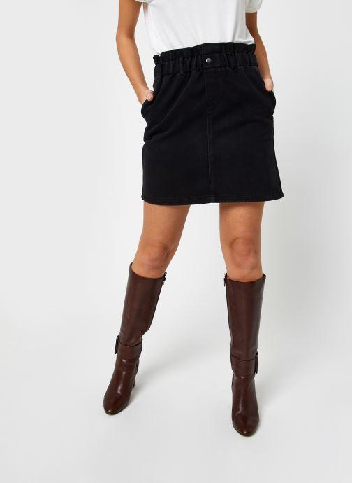 Vêtements Noisy May Denim Skirts JUDO Noir vue détail/paire
