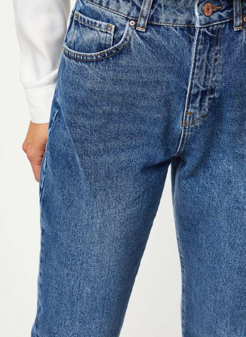Vêtements Noisy May Jeans Solid ISABEL Bleu vue face