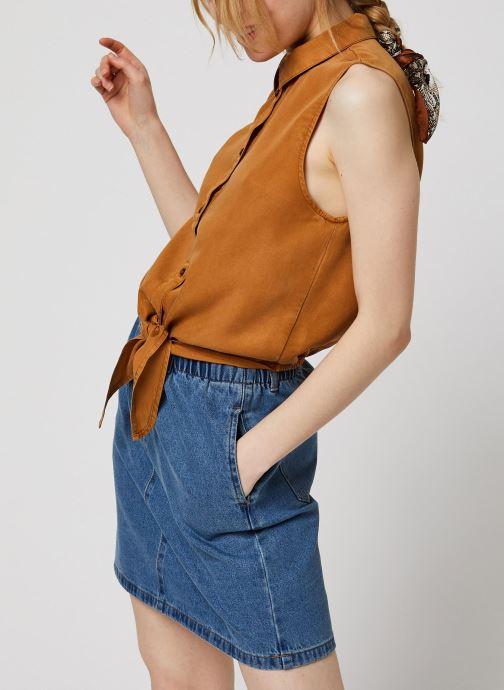 Noisy May L/S Tops GARY (Marron) - Vêtements(425809)