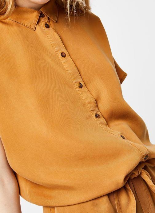 Vêtements Noisy May Shirts GARY Marron vue face