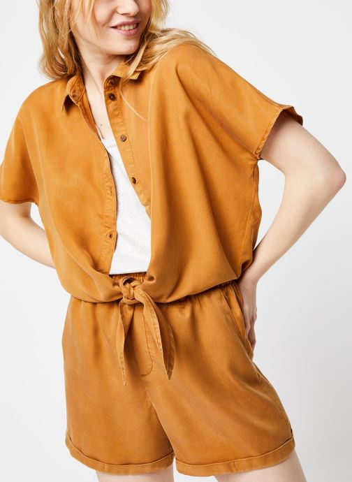 Kleding Noisy May Shirts GARY Bruin detail