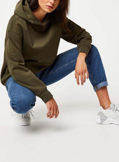 Vêtements Noisy May Sweat LEYA Vert vue bas / vue portée sac