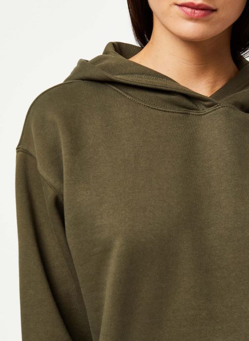 Vêtements Noisy May Sweat LEYA Vert vue face