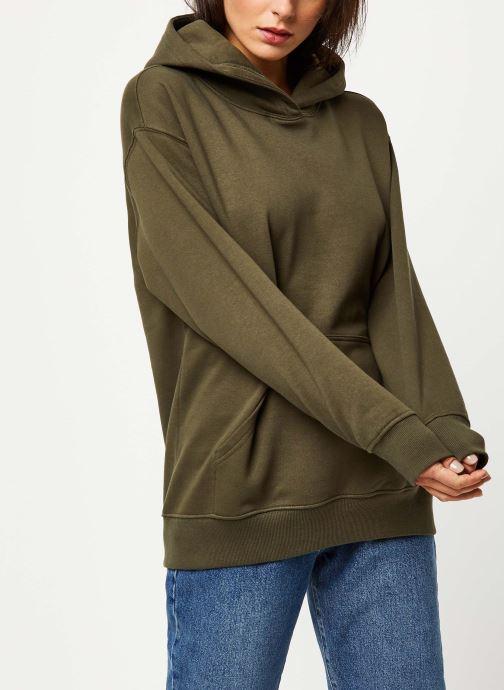 Vêtements Noisy May Sweat LEYA Vert vue droite