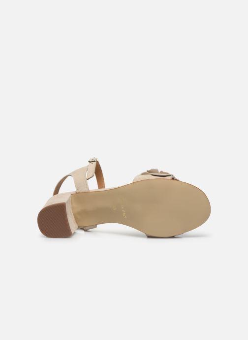 Sandales et nu-pieds Georgia Rose Jiflora Beige vue haut