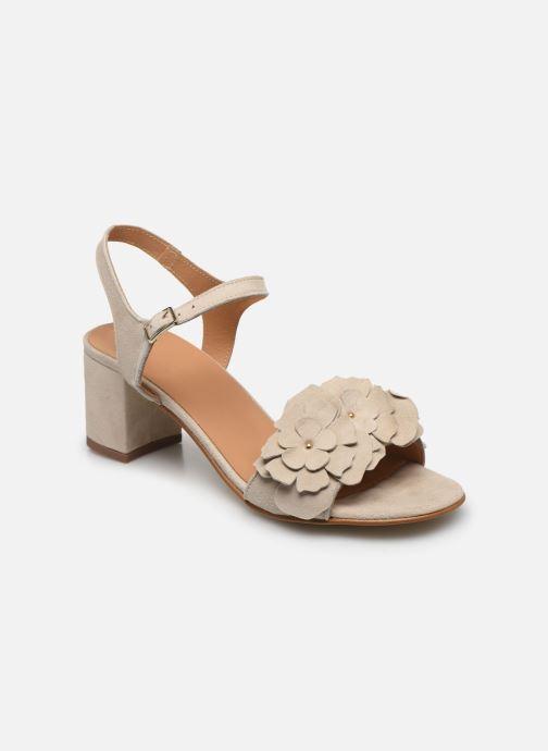 Sandales et nu-pieds Georgia Rose Jiflora Beige vue détail/paire