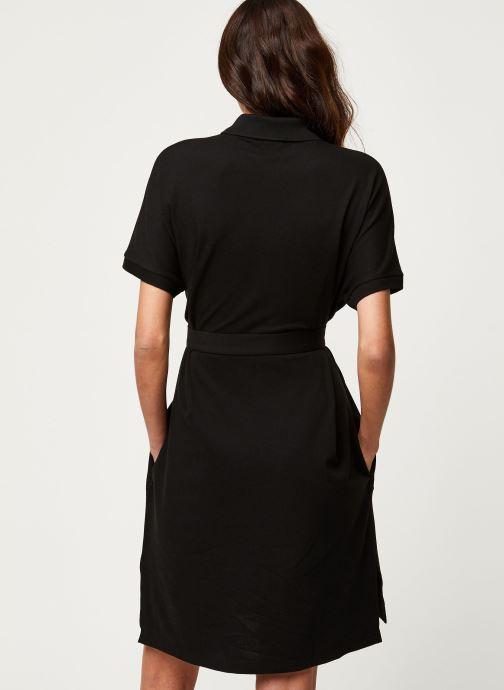 Vêtements Lacoste Robe EF6182-00 Noir vue portées chaussures