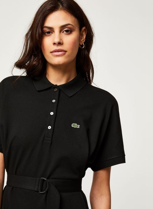 Vêtements Lacoste Robe EF6182-00 Noir vue face