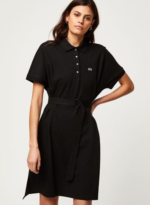 Vêtements Lacoste Robe EF6182-00 Noir vue droite