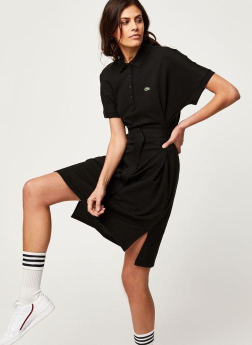 Vêtements Lacoste Robe EF6182-00 Noir vue détail/paire