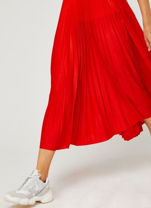 Vêtements Lacoste Jupe JF5455-00 Rouge vue face