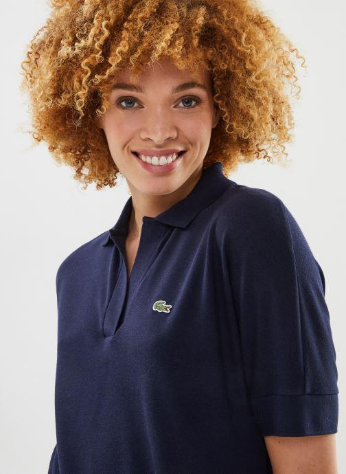Vêtements Lacoste Polo PF0504-00 Bleu vue face