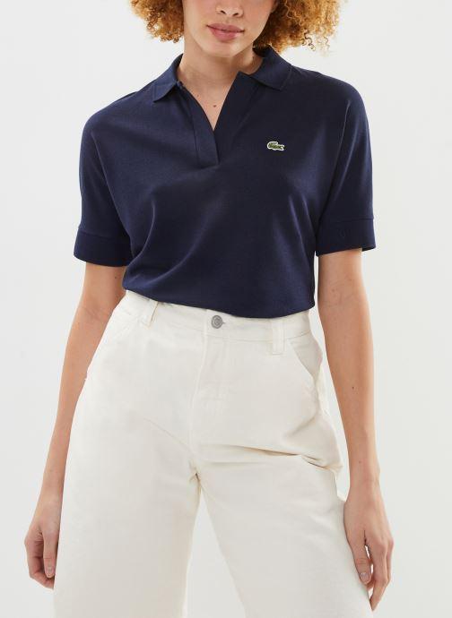 Vêtements Lacoste Polo PF0504-00 Bleu vue droite