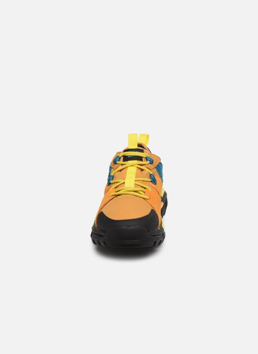 Baskets Caterpillar Raider Sport M Jaune vue portées chaussures