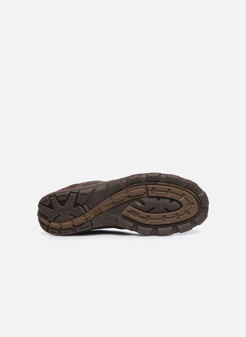 Sneakers Caterpillar Merge Bruin boven