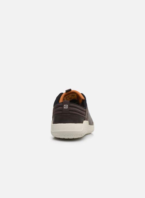 Sneakers Caterpillar Hex 2 Marrone immagine destra