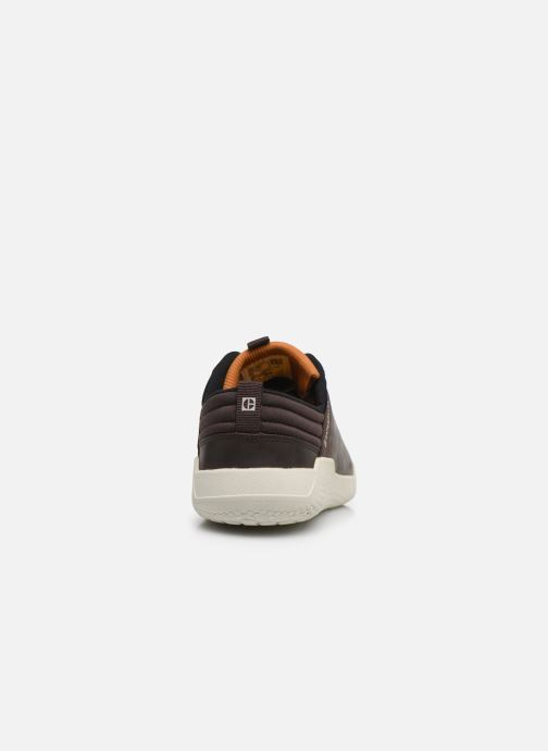 Sneakers Caterpillar Hex 2 Marrone immagine destra
