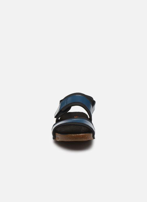 Sandales et nu-pieds Art I BREATHE 991 Bleu vue portées chaussures