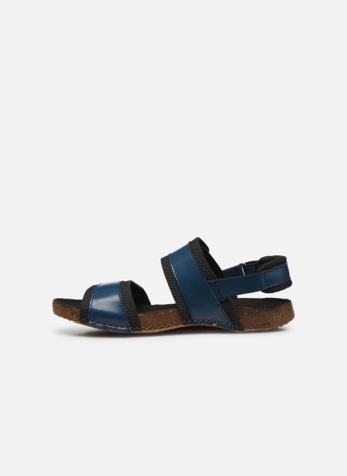 Sandales et nu-pieds Art I BREATHE 991 Bleu vue face