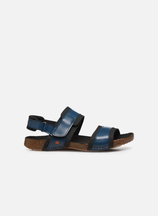 Sandales et nu-pieds Art I BREATHE 991 Bleu vue derrière