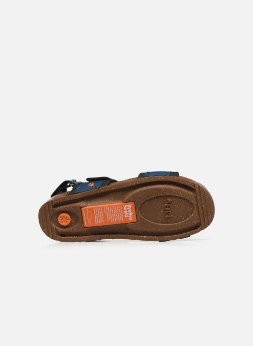 Sandales et nu-pieds Art I BREATHE 991 Bleu vue haut