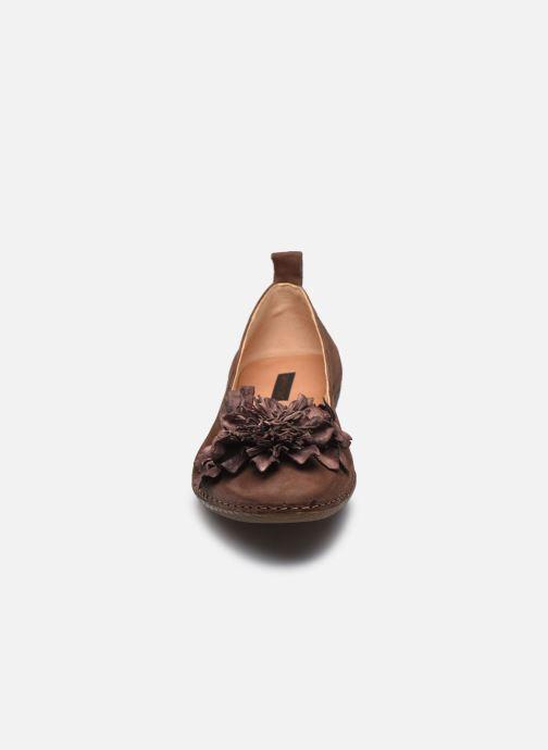 Ballerines Neosens VIURA S3117 Marron vue portées chaussures
