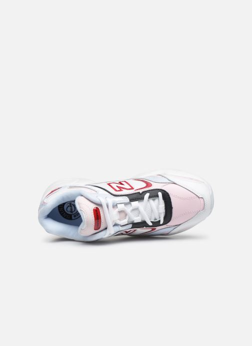 Trainers New Balance W452 - HOLLYSIZ Pink view from the left