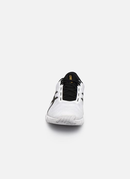 Chaussures de sport Asics Gel-Quantum 180 5 Blanc vue portées chaussures