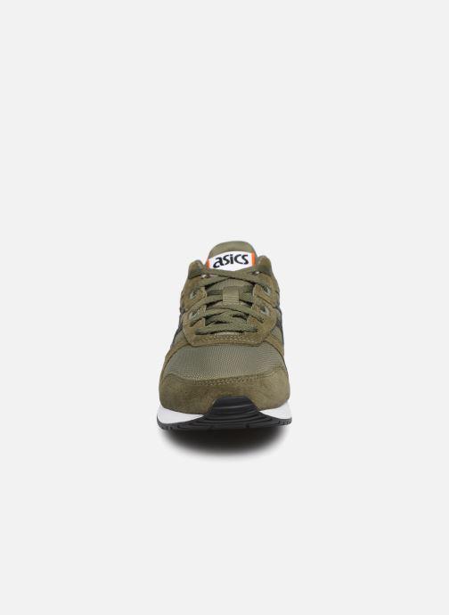 Baskets Asics Lyte Classic Vert vue portées chaussures