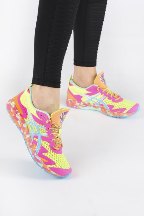 Sport shoes Asics Gel-Noosa Tri 12 Multicolor view from underneath / model view
