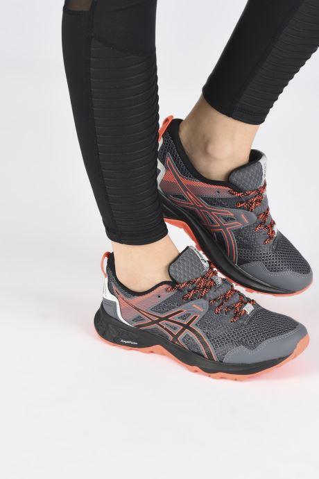 Chaussures de sport Asics Gel-Sonoma 5 Noir vue bas / vue portée sac