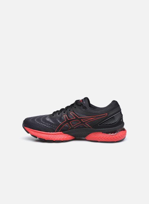 Chaussures de sport Asics Gel-Nimbus 22 Noir vue face