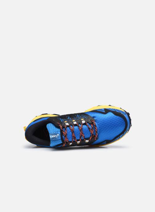 Zapatillas de deporte Asics Gel-FujiTrabuco 8 Azul vista lateral izquierda